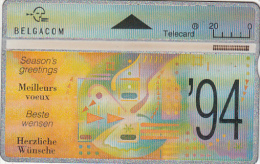 "BELGIUM - Season""s Greetings, CN : 311E, Used"