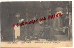 51 - VERZY - CAVES PIERLOT - MANUTENTION DU VIN DE CHAMPAGNE - Verzy