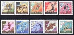URSS - N° 2310/19 ** 10 Valeurs. Jeux Olympiques De Rome 1960 : Sports Divers. - 1923-1991 URSS