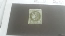 LOT 243866 TIMBRE DE  FRANCE OBLITERE N�39 VALEUR 180 EUROS