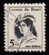 BRAZIL - Scott #1039 Anita Garibaldi (*) / Used Stamp - Brazil