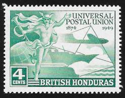 BRITISH HONDURAS - Scott #137 UPU Ussue / Mint NH Stamp - British Honduras (...-1970)