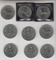 9 X 25 New Pence 1977, , Great Britain, Elizabeth II  (MT3) - 1971-… : Monnaies Décimales