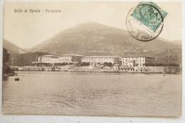 GOLFO DI SPEZIA - VARIGNANO FRAZIONE DI PORTOVENERE 1912 - CARTOLINA DI 103 ANNI!!! - La Spezia