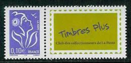 3916A Timbres Plus** (Timbre Offert Par La Poste Pour Ses Réservataires) - 2004-08 Maríanne De Lamouche