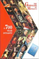 MONACO  -=-=-  LIVRE  -=-=-   A 700 Year Dynasty  -=- The Grimaldis Of Monaco - Europe