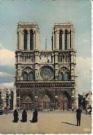 Francia--Paris--1966--Notre-Dame--La Façade--Cachet--Seine Saint Denis - Notre Dame De Paris