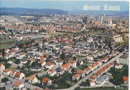 CPM 68 - Saint Louis - Vue Aérienne - Quartier Rue De La Liberté Et De La Couronne - Saint Louis