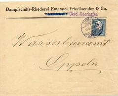 HAUTE SILESIE LETTRE DE COSEL 1920 - Sonstige - Europa
