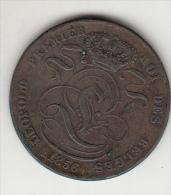 5 Cent, Centimes Leopold I 1856 (MT10) - 1831-1865: Léopold I.