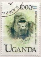 Uganda Used Stamp - Gorillas