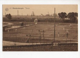 Belgium  Blankenberghe  Tennis Carte Postale Vintage Original Postcard Cpa Ak (W4_544) - Blankenberge
