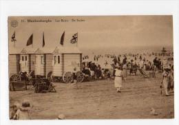 Belgium  Blankenberghe  Le Bains  Uk Flag Carte Postale Vintage Original Postcard Cpa Ak (W4_545) - Blankenberge