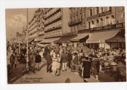Belgium  Blankenberghe  La Digue Cafe Restaurants Carte Postale Vintage Original Postcard Cpa Ak (W4_546) - Blankenberge