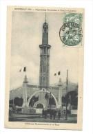 CPA - GRENOBLE (38) Exposition Tourisme Et Houille Blanche 1925 - L'Entrée Monumentale Et La Tour - Affranchie - Grenoble