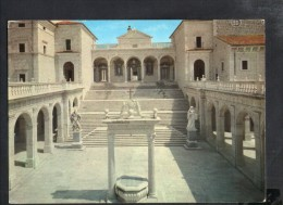 J1416 Montecassino ( Frosinone ) - Abbazia: Chiostro Bramantesco - Cloister, Cloitre, Kloster - Alterocca Terni - Altre Città