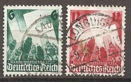 Michel 632/633 O - Gebraucht