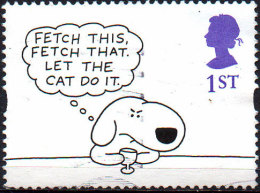 GREAT BRITAIN 1996 Greetings Stamps. Cartoons: 1st Class NVI 'Fetch This, Fetch That' - Usati