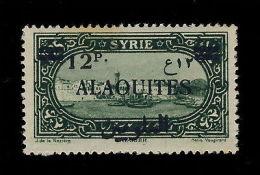 """ALAOUITES - N°39 SURCHARGE SANS POINT SUR LE """"P"""" ARABE - NEUF ** - Sin Clasificación"""