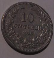 Bulgaria 10 Stotinki 1913 - Bulgaria