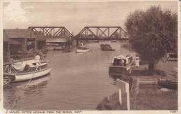 The Broads, Potter Heigham From The Bridge, West, 10-20s - Bruggen
