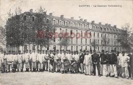 17 - SAINTES - Caserne Taillebourg -  écrite 1911  - 2 Scans - Saintes