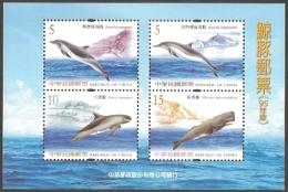 Taiwan - Cetaceans, Souvenir Sheet, MINT, 2006 - Whales