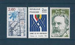France Timbre De 1982   N°2213 A 2215  Neuf ** - Ungebraucht