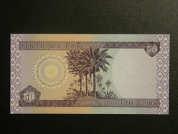 Billets - Iraq - 50 Dinars - Jamais Circulé - Iraq