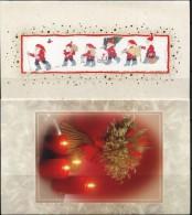 PA1364 Aland 2007 Candlelight Christmas Greeting Card 2v MNH - Aland