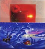 PA1368 Aland 2006 Christmas Greeting Cards 2v MNH - Aland
