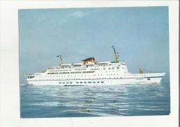 87065 NAVE DA CROCIERA DFDS SEAWAYS  DANA CORONA E DANA SIRENA - Dampfer