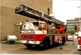 Brandweerwagen Beoordeling. Echte En Unieke Foto. S'Gravenhage, 23/05/1987. - Brandweer