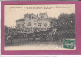 26.- La Drôme Illustrée  (7): Le Vol MONTELIMAR DIEULEFIT Et Retour - Préparatif De Retour Devant Le Château De REJAUBER - Montelimar