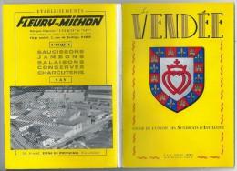 VENDEE Guide De Lunion Des Syndicats D'Initiative 1958. - Pays De Loire