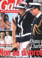 Gala 107 Christian Morin Peyron Mitterrand Diana Charles Schreyyer Jim Carrey Rolling Stones Vanessa Mae Lollobrigida - People