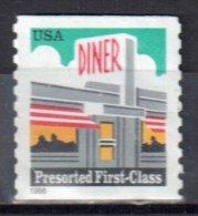 United States 1998  Diner - Sc # 3208 - Mi.2968 - Used - United States