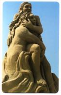 SCULTURE DI SABBIA DIVINA COMMEDIA SCHEDA TELEFONICA TELECOM 2415 - Italia