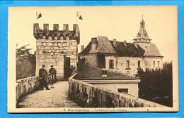 OV951, Le Rempart Et Le Château, Animée, Non Circulée - Rocamadour