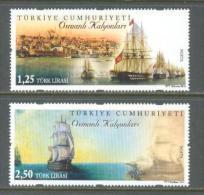 2014 TURKEY OTTOMAN GALLEONS - GALIONS - SHIPS MNH ** - Nuevos