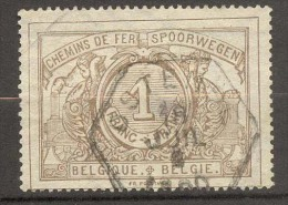 België/Belgique Spoorwegzegel SP/TR/Belgique Chemin De Fer CF N° 26 Stempel/cachet Ostende - Bahnwesen
