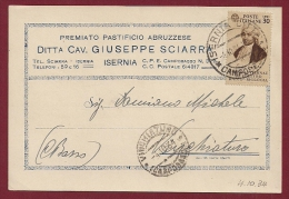 ISERNIA PUBBLICITARI GIUSEPPE SCIARPA PASTIFICIO 1934 - Publicidad