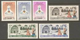Lebanon Liban 1964 Children´s Complete Set MNH Bal Des Petits Lits Blancs - Lebanon