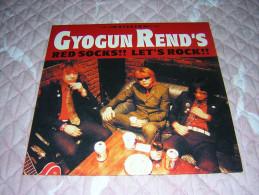 GYOGUN REND'S - Red Socks !! Let's Rock !! - LP 25cm - SOUNDS OF SUBTERRANIA - GARAGE PUNK - JAPON - Punk