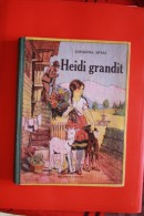 Ancien Livre HEIDI GRANDIT - Livres, BD, Revues