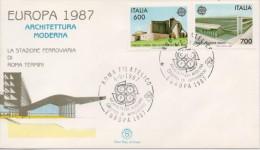 ITALIA FDC EUROPA 1987  4/5/87 - 1987