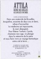 Cpm  ATTILA REINE DES BELGES - Cochons