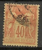 Timbres - France - 1876-1878 - Sage - Type II - 40 C. - N° 94 -