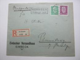 1931, KOHNSEN - Kreiensen  , Klarer Landpoststempel Auf Beleg - Deutschland