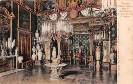"01021  ""TORINO PALAZZO REALE SALA RICEVIMENTO DI SUA MAESTA´ LA REGINA"". CART. POSTALE. SPEDITA 1910 - Palazzo Reale"